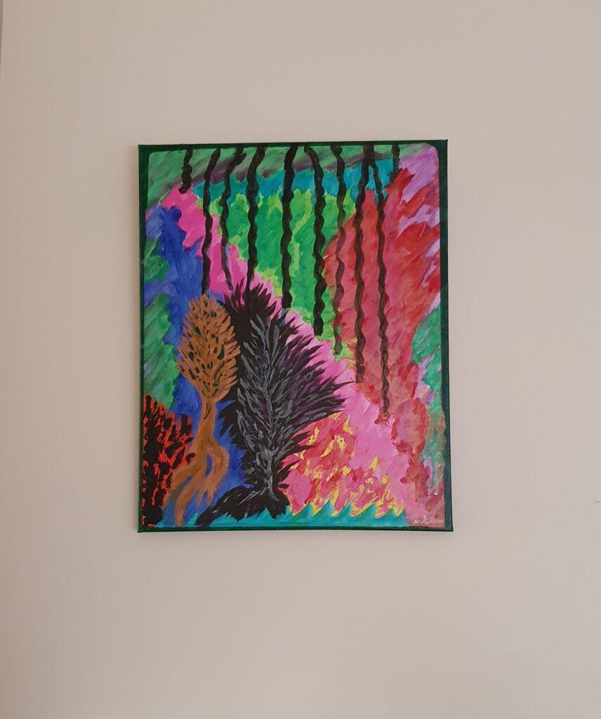 Black Rain by Sue-ASSP-Arts